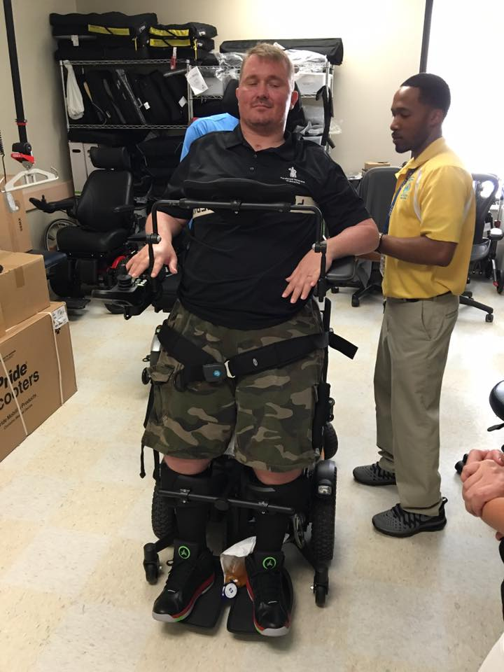Standing wheelchair F5 VS