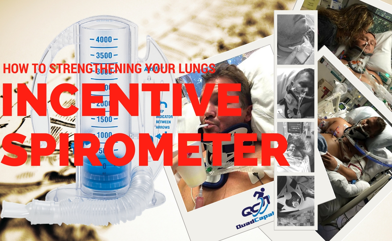 Incentive spirometer lungs quadriplegic breathing how to use incentive spirometer