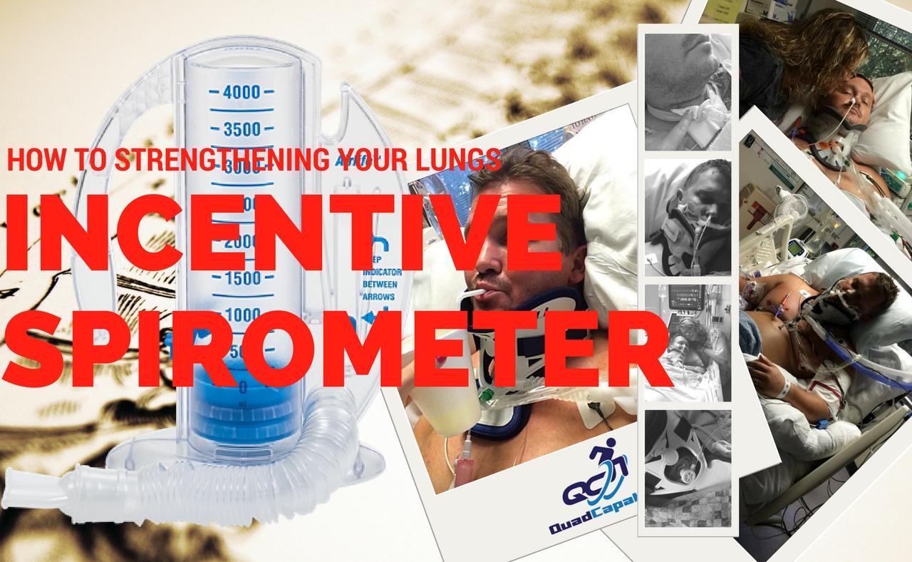 Incentive spirometer lungs quadriplegic breathing how to use incentive spirometer