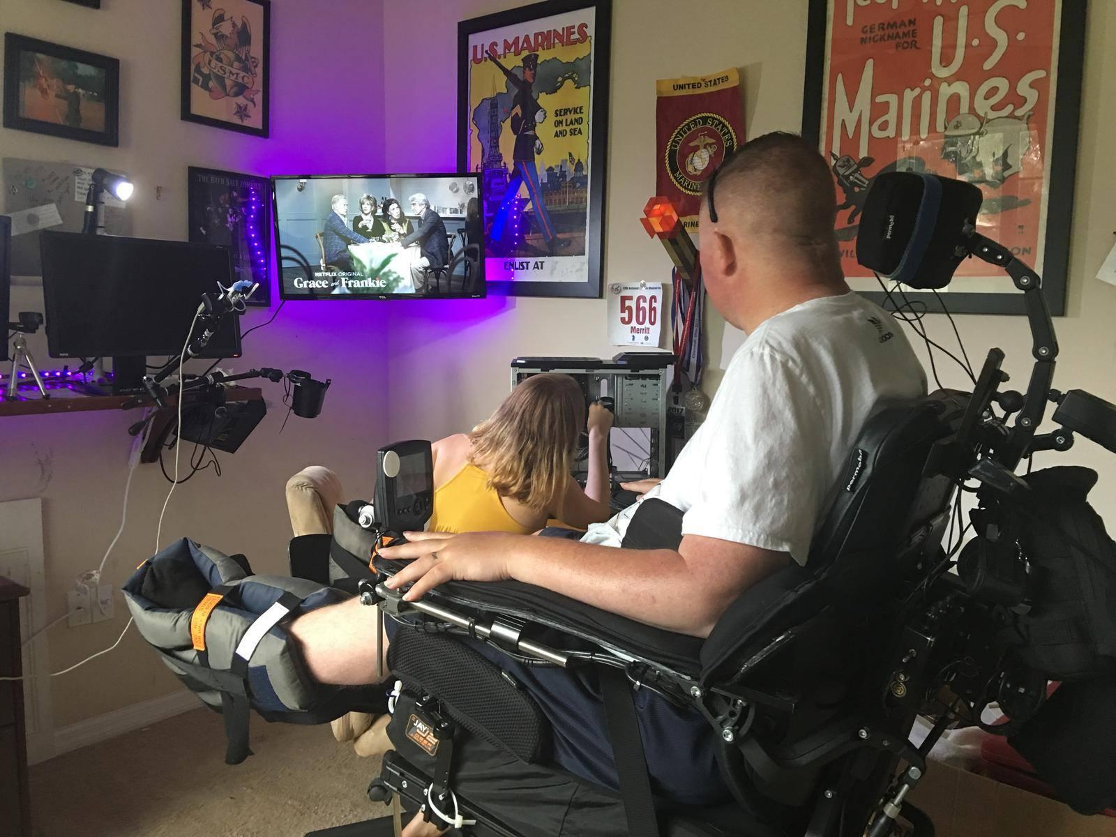 In Aprilish 2017 I began communicating with organizations in hopes to upgrade my ... & Quadriplegic PC Computer Setup Gaming Workstation - Quadcapable