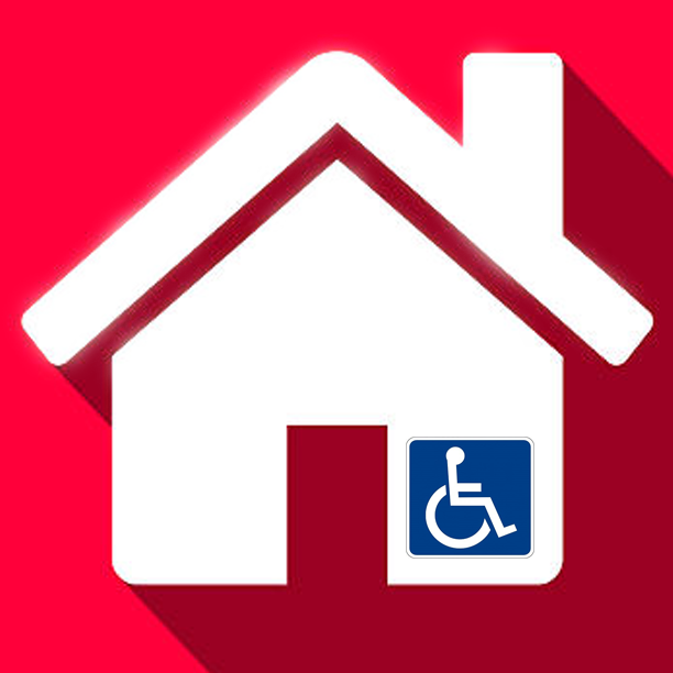 Home modification ADA universal design wheelchair accessible
